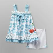 Small Wonders Infant Girl's Sundress & Shorts - Cherries at Kmart.com