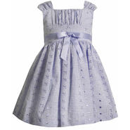 Ashley Ann Toddler Girl's Sleeveless Eyelet Dress at Sears.com