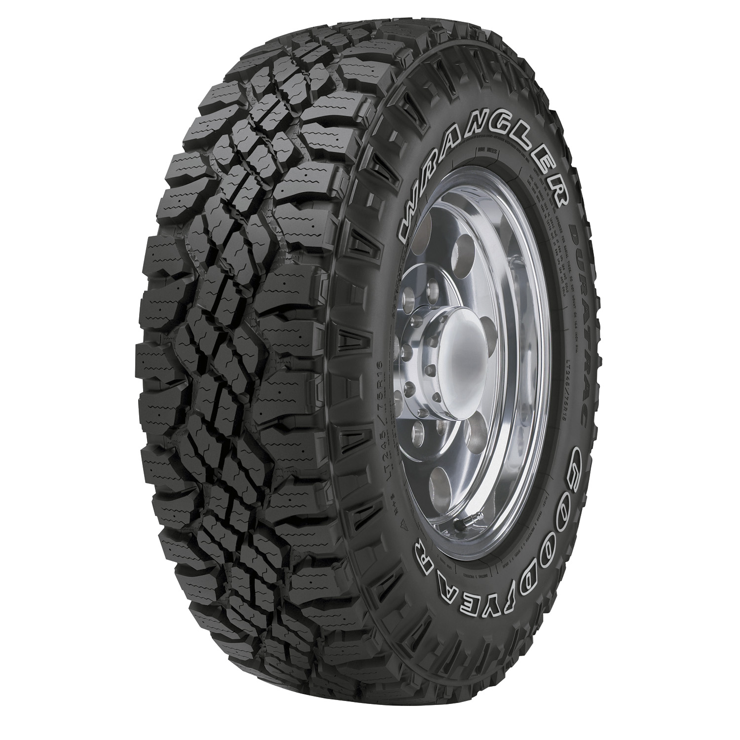 Goodyear Wrangler Duratrac - LT265/70R17E 121/118Q BSW - All Season Tire 265-70-17