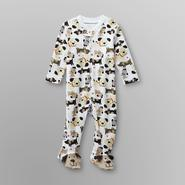 Small Wonders Infant Boy's Footed Pajamas - Puppy Dogs at Kmart.com