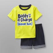 WonderKids Toddler Boy's T-Shirt & Shorts - Daddy's In Charge at Kmart.com