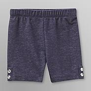 WonderKids Toddler Girl's Knit Shorts - Denim at Kmart.com