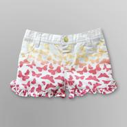 WonderKids Infant & Toddler Girl's Ruffle Butterfly Shorts at Kmart.com