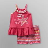 WonderKids Infant & Toddler Girl's Tank Top and Shorts Set - Starfish at Kmart.com