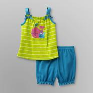 Small Wonders Infant Girl's Tank Top & Shorts - Whales at Kmart.com