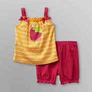 Small Wonders Infant Girl's Tank Top & Shorts - Strawberry at Kmart.com