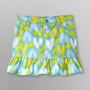 WonderKids Infant & Toddler Girl's Ruffle Skirt - Hearts at Kmart.com