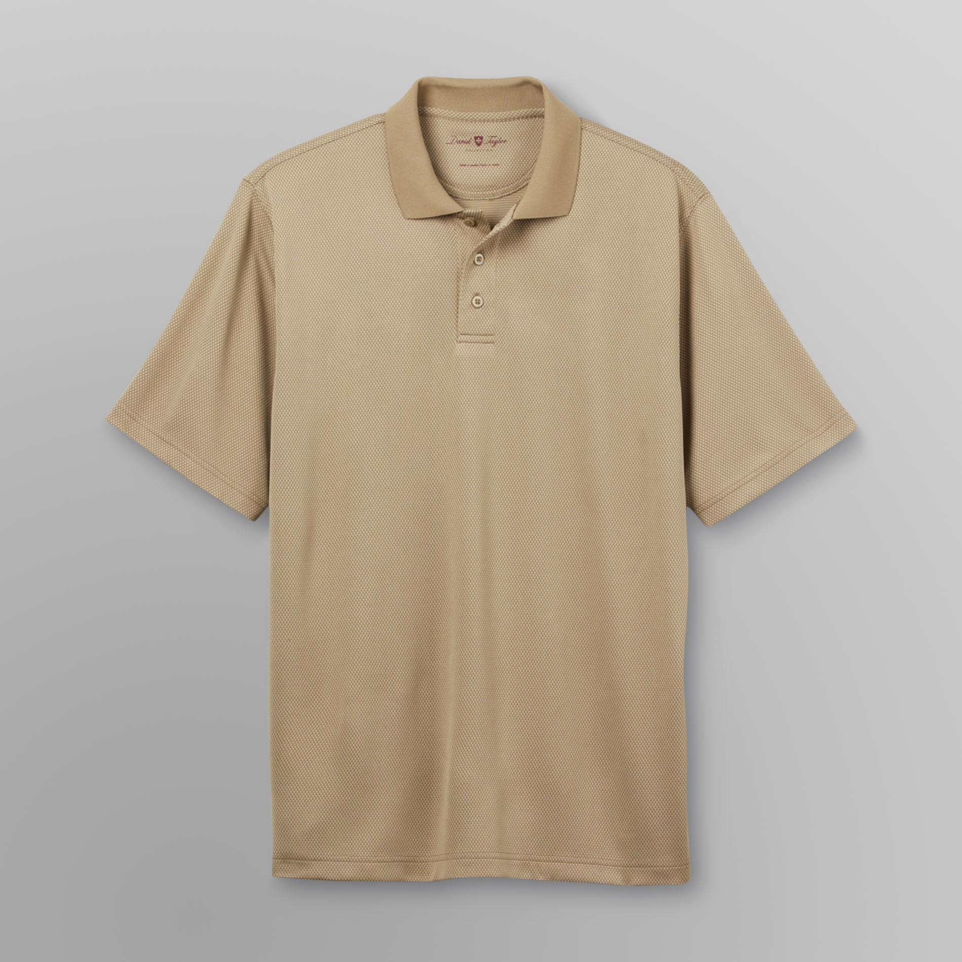 David Taylor Men's Poly Polo Shirt - Grid at Kmart.com
