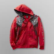 Sinister Young Men's Hoodie Jacket - Winged Skulls at Kmart.com