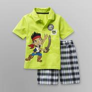 Disney Baby Jake/Pirates Toddler Boy's Polo Shirt & Shorts at Kmart.com