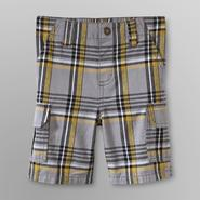 WonderKids Infant & Toddler Boy's Cargo Shorts - Plaid at Kmart.com
