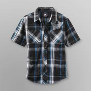 SK2 Boy's Button Front Shirt - Plaid at Kmart.com