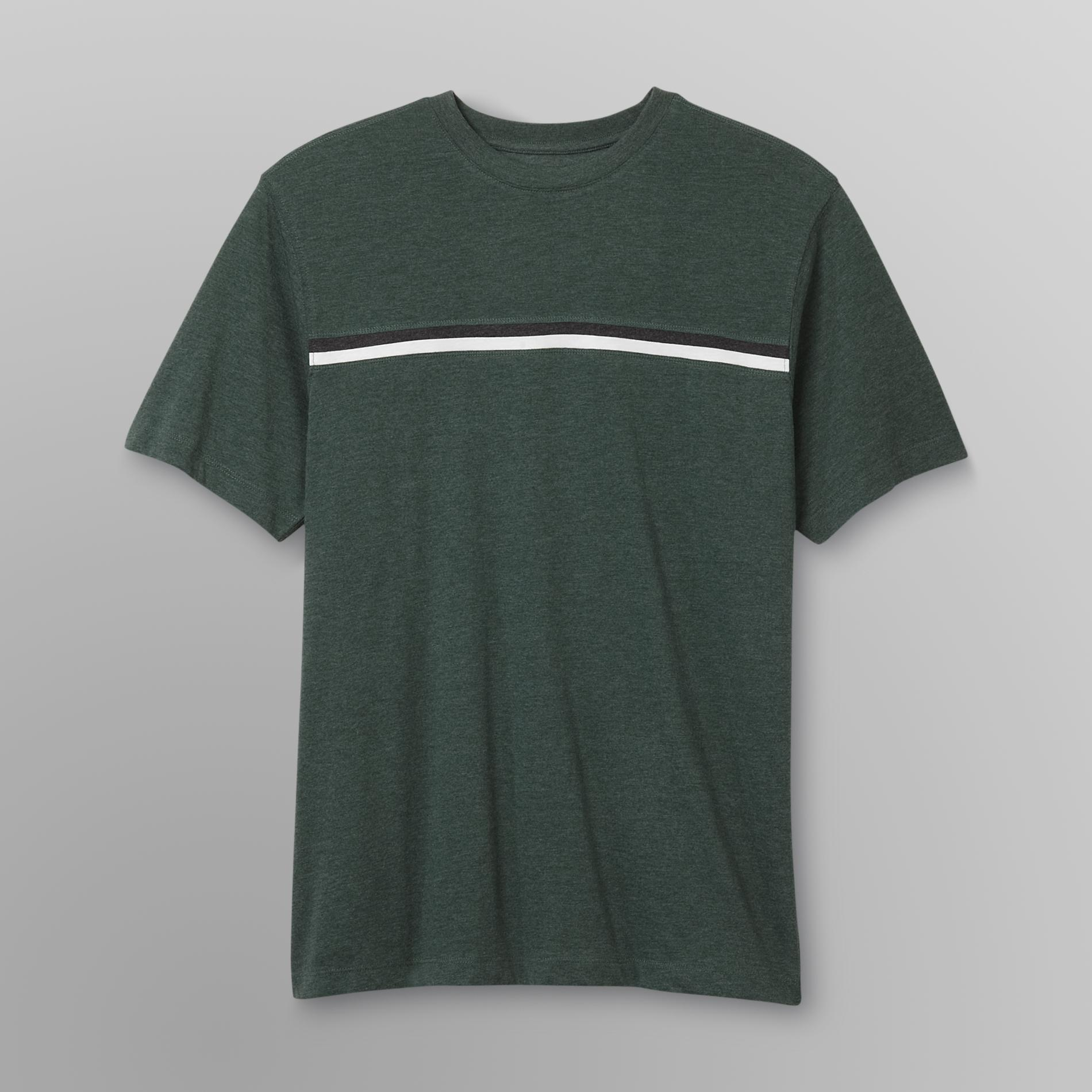 Basic Editions Men's T-Shirt - Striped at Kmart.com