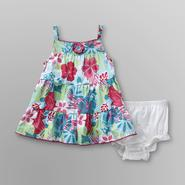 Small Wonders Newborn & Infant Girl's Dress & Diaper Cover - Floral at Kmart.com