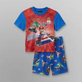 Nintendo Mario Kart Boy's T-Shirt & Pajama Shorts at mygofer.com