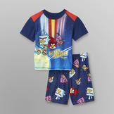 Angry Birds Angry Birds Space Boy's T-Shirt & Pajama Shorts at mygofer.com
