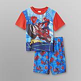 Marvel Spider-Man Boy's T-Shirt & Pajama Shorts at mygofer.com