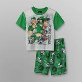 WWE John Cena Boy's T-Shirt & Pajama Shorts at mygofer.com
