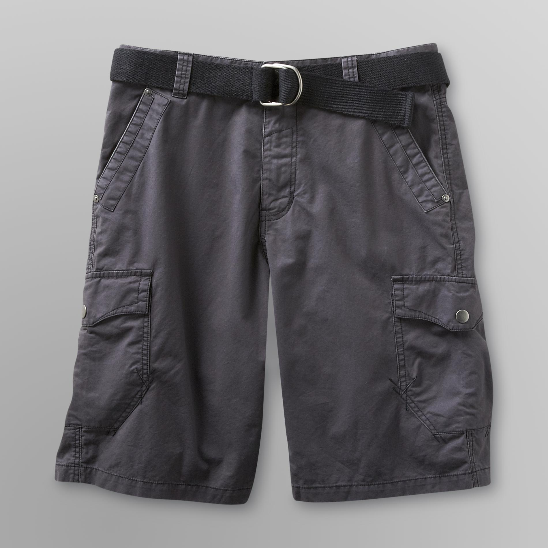 Route 66 Men's Belted Cargo Shorts - Crosses at Kmart.com