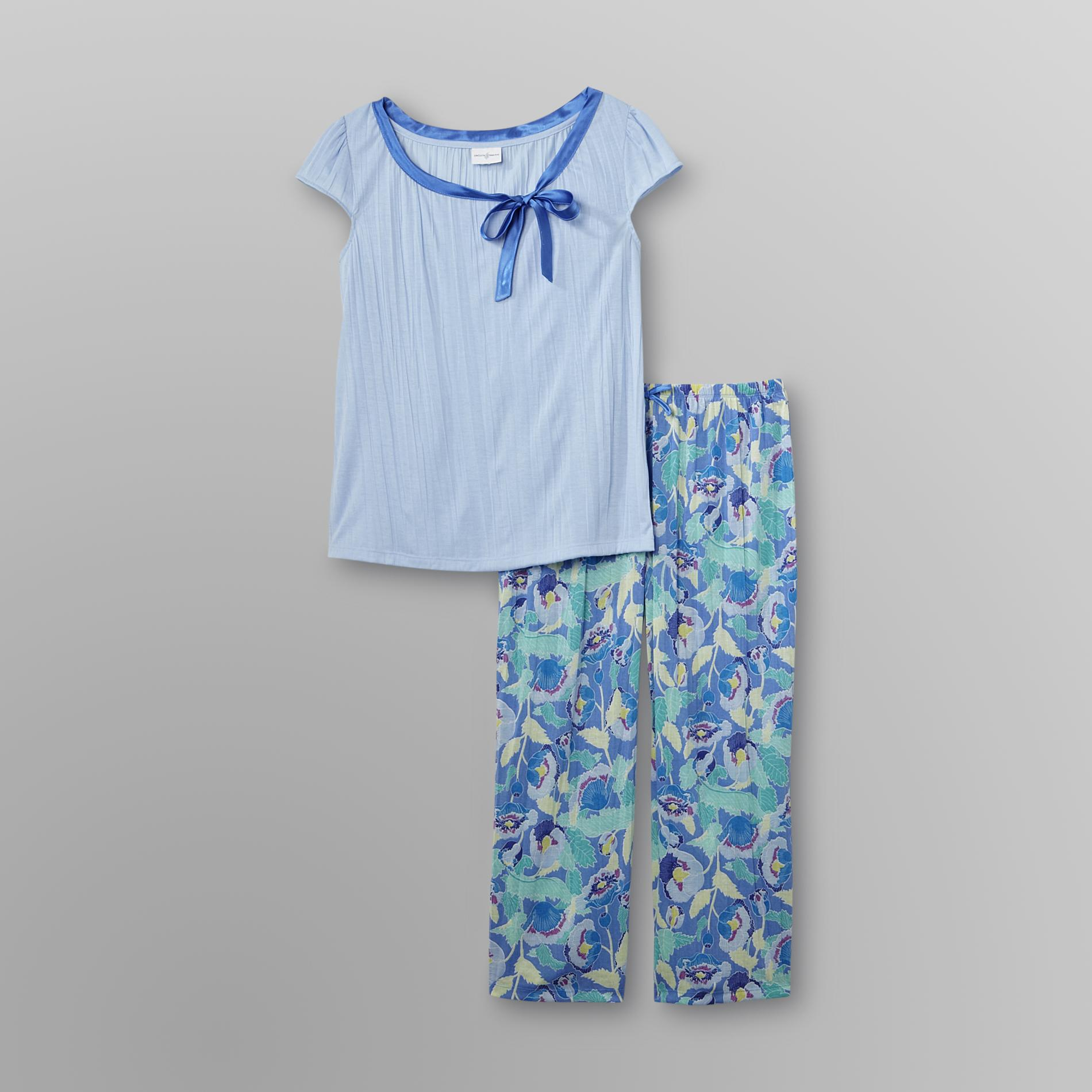 Jaclyn Smith Women's Satin Bow Pajama Set at Kmart.com