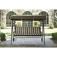 Garden Oasis 3 Seat Swing with Canopy at Kmart.com