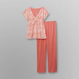 Jaclyn Smith Women's Pajamas - Zebra Stripes at Kmart.com
