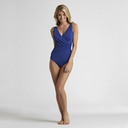 Tropical Escape Women's One Piece Swimsuit - Solid at Sears.com