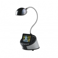King KNG 003606 Zeus Digital Photo Frame Lamp (Black) at Kmart.com
