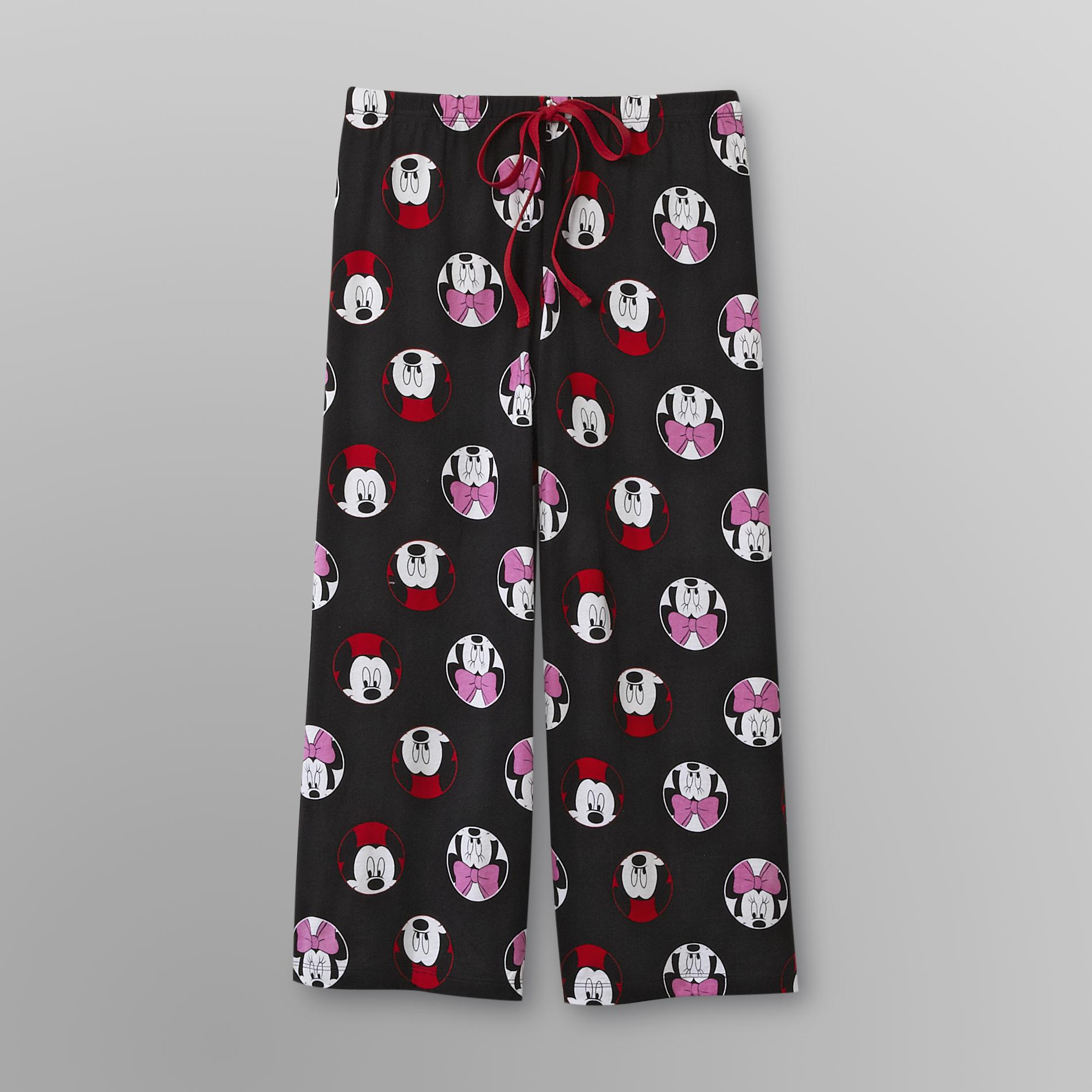 Mickey Mouse Women's Pajama Pants - Capri
