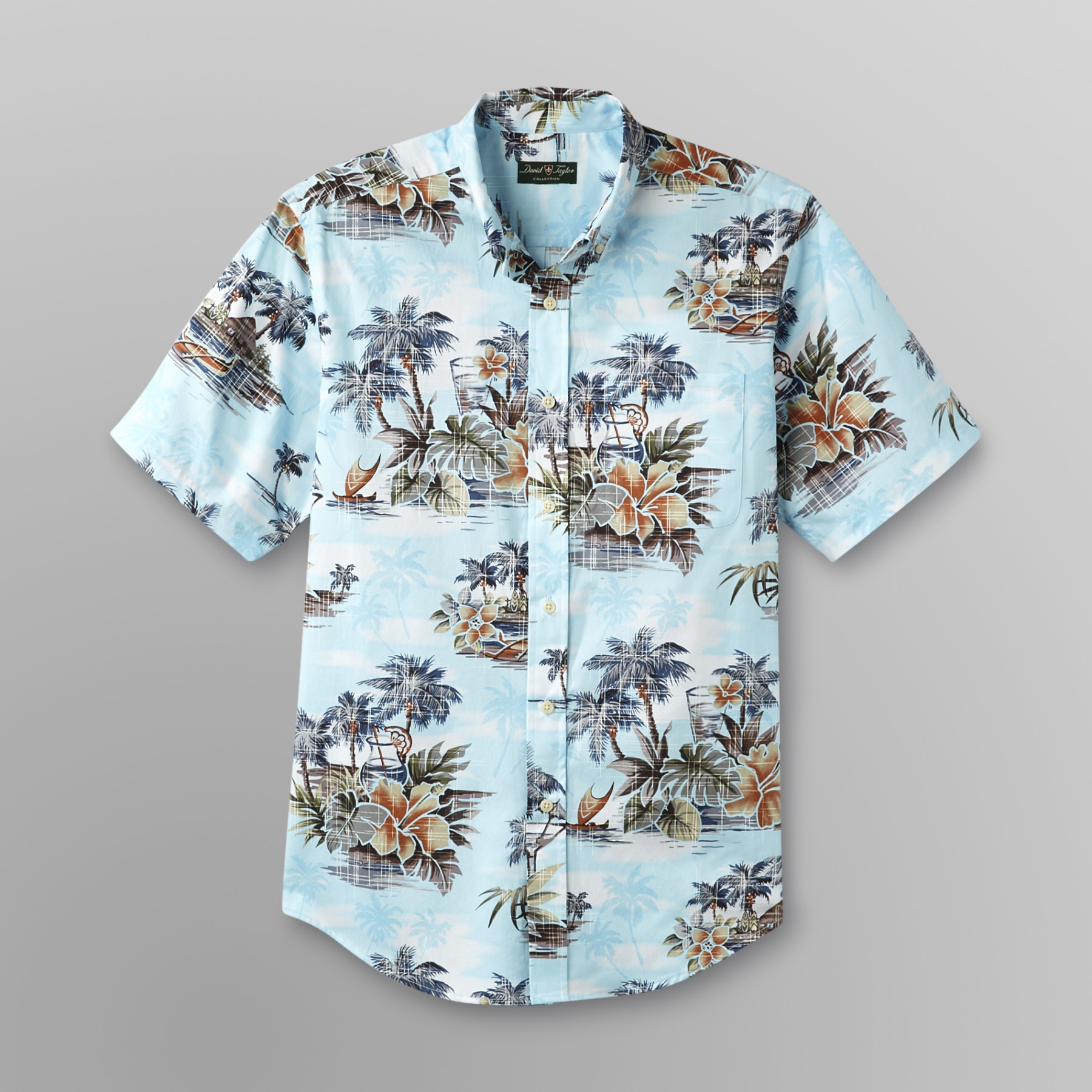 David Taylor Men's Tropical Shirt at Kmart.com