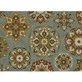 Essential Home 5'X7' Calabria Deep Dark Lagoon Rug at mygofer.com