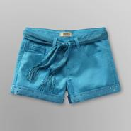 Route 66 Girl's Belted Colored Jean Shorts at Kmart.com