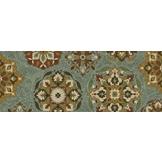 Essential Home 22 x 60 Calabria Deep Dark Lagoon Rug at mygofer.com