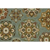 Essential Home 30 x 46 Calabria Deep Dark Lagoon Rug at mygofer.com
