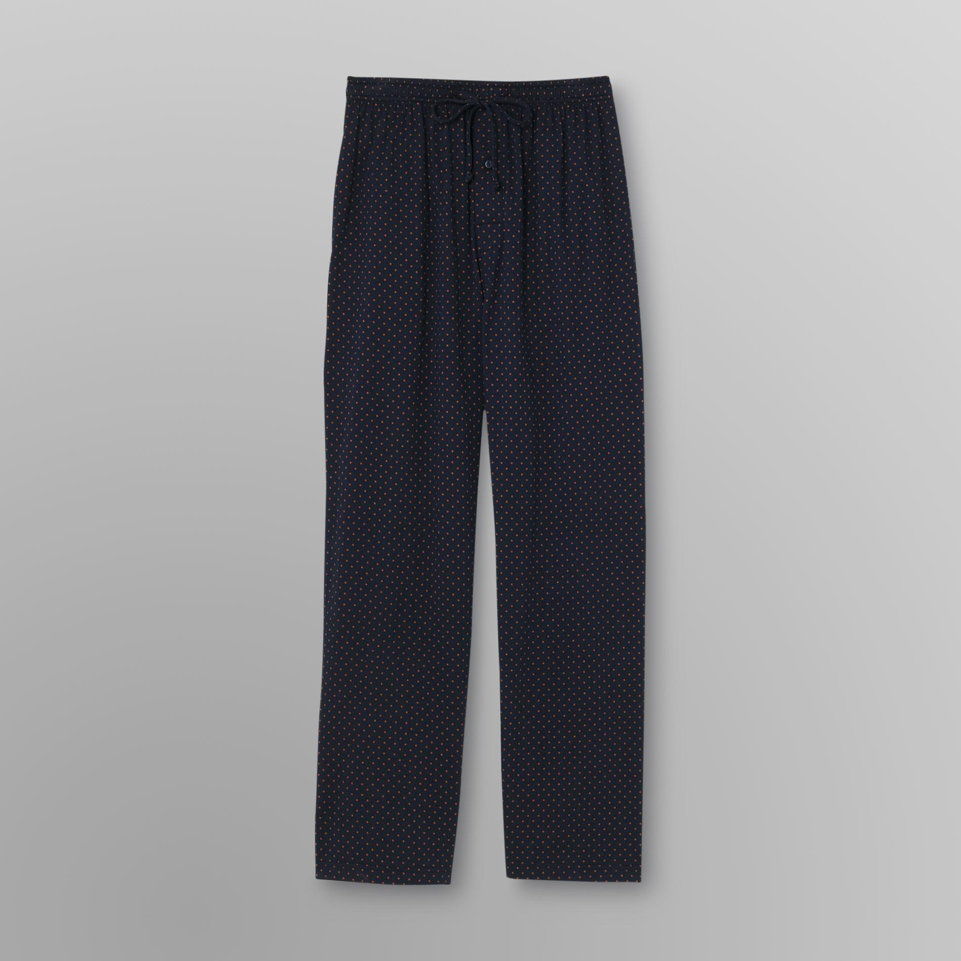 Covington Men's Big & Tall Pajama Pants - Dots
