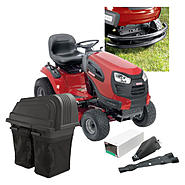 Craftsman  42'' 21hp Tractor With Bagger,Mulch Kit and Bumper Bundle at Sears.com