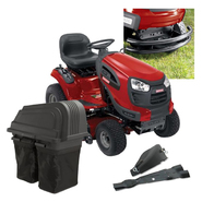 Craftsman� 46 In. 21hp Yard Tractor With Bagger, Mulc...