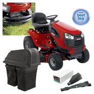 Craftsman  42'' 24hp Tractor With  Bumper,Mulch Kit And Bagger Bundle at Sears.com