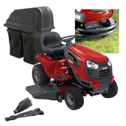Craftsman 46'' 24hpTractor With Bagger, Mulch Kit and Bumper Bundle at Sears.com