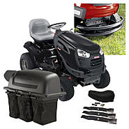 Craftsman 54 In. 26hp Yard Tractor With Bagger, Mulch Kit and Bumper Bundle at Sears.com