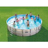 Pro-Series 22ft x 52in Frame Pool Set at mygofer.com
