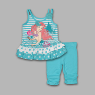 Disney Baby Infant & Toddler Girl's 2 Pc Ariel 'Princess' Top & Leggings Set at Sears.com