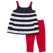 Carter's Infant Girl's 2 Pc 'Stars and Stripes' Tunic & Leggings Set at Sears.com