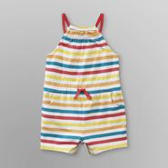 Small Wonders Infant Girl's Knit Romper - Striped at Kmart.com