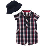 Carter's Newborn Boy's Romper & Hat Set at Sears.com