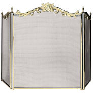 UniFlame 3 Fold Cast Solid Brass Screen at Kmart.com