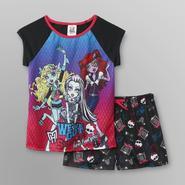 Monster High Girl's T-Shirt & Pajama Shorts at Kmart.com