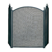 UniFlame 3 Fold Large Diameter Black Screen W/ Woven Mesh at Kmart.com