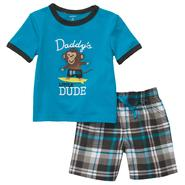 Carter's Newborn & Infant Boy's 2 Pc 'Monkey Dude' Graphic Tee & Shorts Set at Sears.com