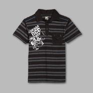 SK2 Boy's Striped Short Sleeve Fashion Polo at Kmart.com